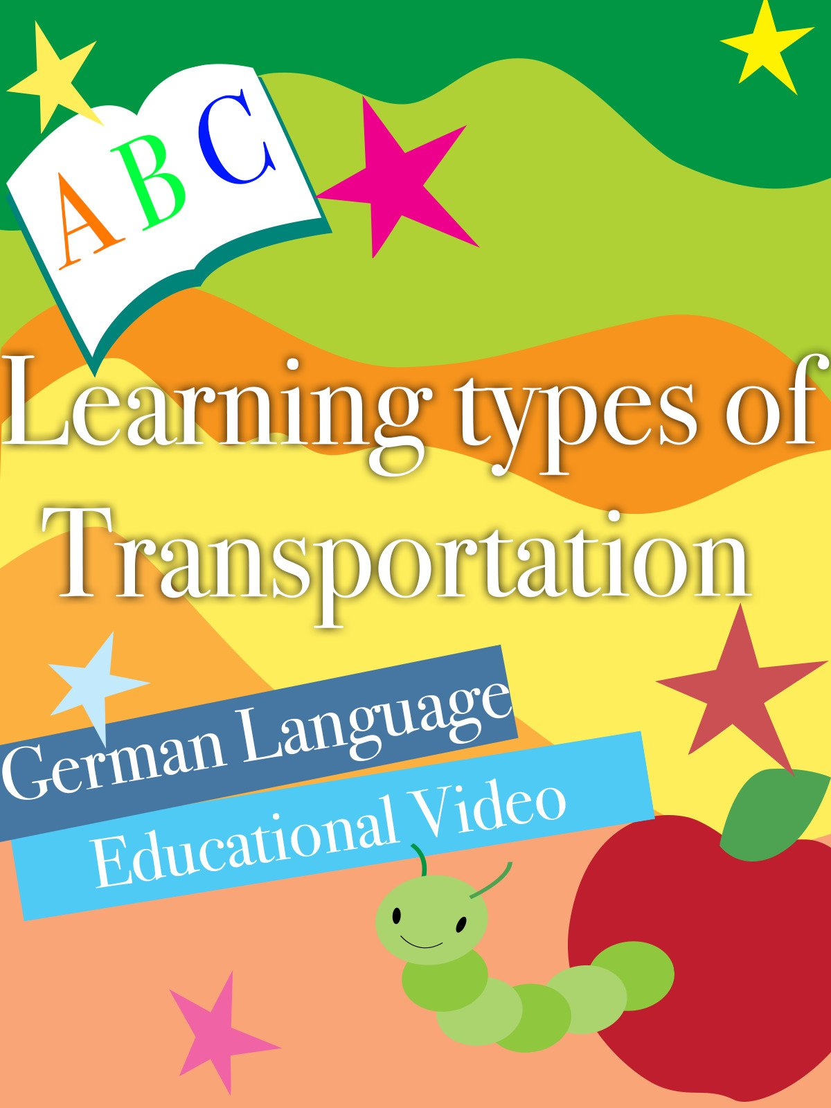 Learning types of Transportation German Language Educational Video on Amazon Prime Instant Video UK