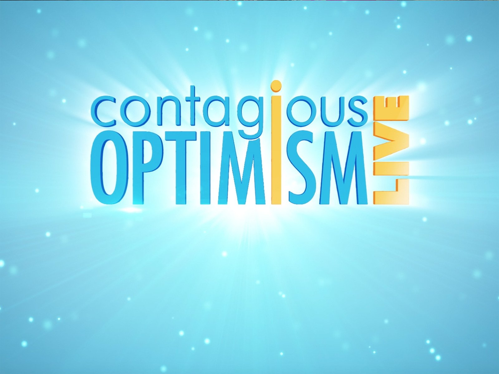 Contagious Optimism Live on Amazon Prime Instant Video UK