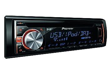 Pioneer DEH-X6600DAB Autoradios 200 W En Façade