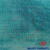 MP - Mighty Products 90% Shade Mesh/Net/Cloth/Tarp, Green, 6' x 8'