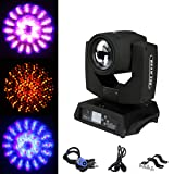 TC-Home 7R 230W 16CH Moving Head Beam Wash Spot Light DJ Disco Club Party Wedding Stage Effect Lighting (Color: Black)