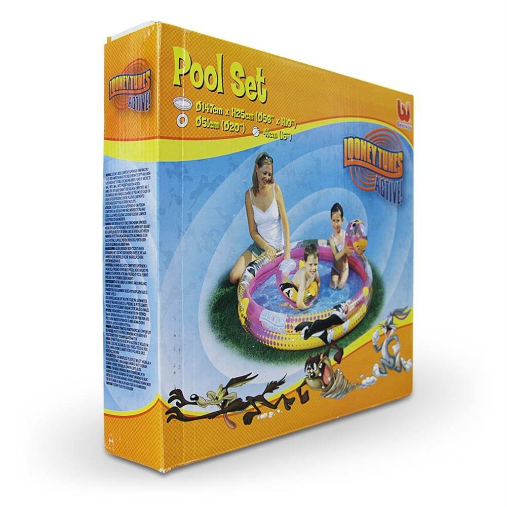 8 x 3er Set Pool Set Poolset Planschbecken Schwimmreifen Wasserball aufblasbar 147 cm kaufen
