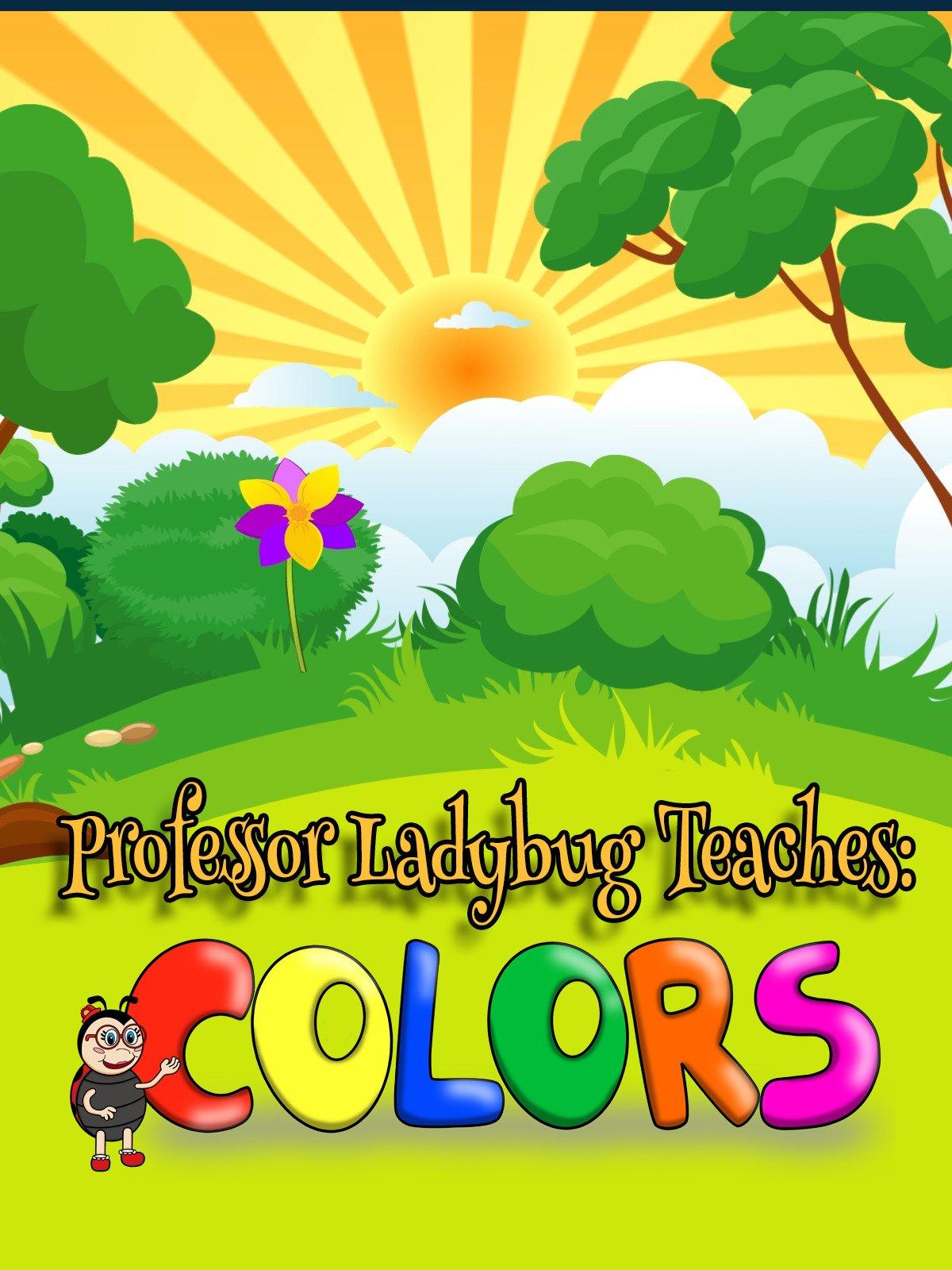 Professor Ladybug Teaches: Colors