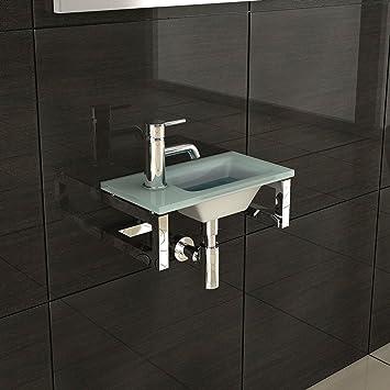 waschtisch design handwaschbecken alpenberger badm bel aus glas aufsatzbecken mit. Black Bedroom Furniture Sets. Home Design Ideas