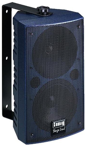 Universal PA Speaker Cabinet, 180W Max, 4 Ohm (PAB-506/BL)