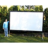Visual Apex Projectoscreen144HD portable indoor or outdoor movie theater projection screen. Perfect for travel, Fast-fold projection screen, 16:9 144