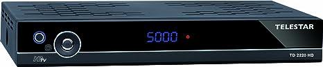 Telestar TD 2220 HD Récepteur satellite numérique HDTV / DVB-T HDMI / Péritel / USB 2.0 Noir