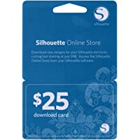 $25 Silhouette Of America Gift Card [Download]
