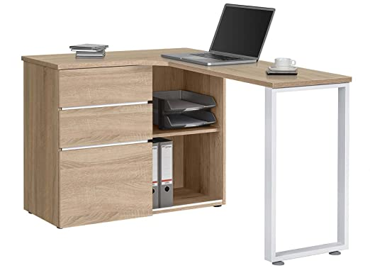 Peninsular Desk - Sonoma Oak