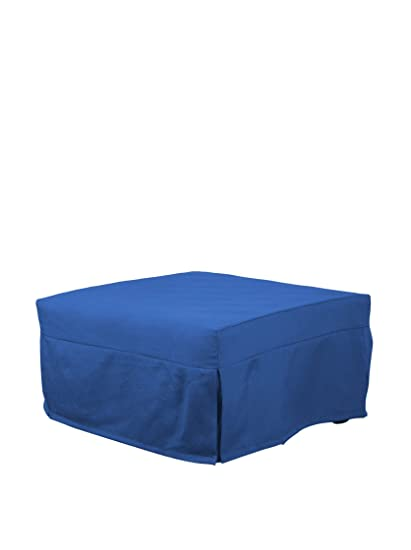 Links - Evolution 3 pouf letto con materasso ortopedico. Pes amber blue