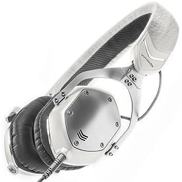 V-MODA Casque audio anti-bruit en métal Blanc/argenté Taille XS