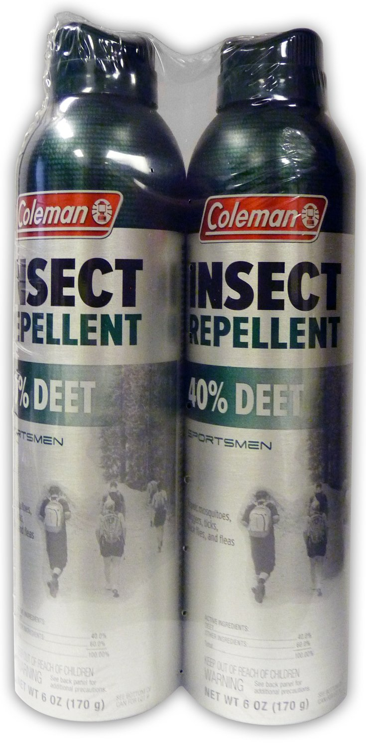 Coleman 40 Percent DEET Insect Repellent