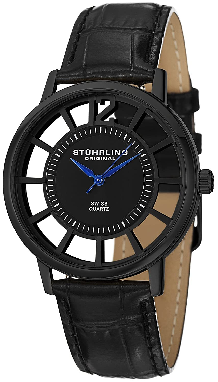 Stuhrling Original Men's Classic Winchester Swiss Quartz Watch Sets for $49.99