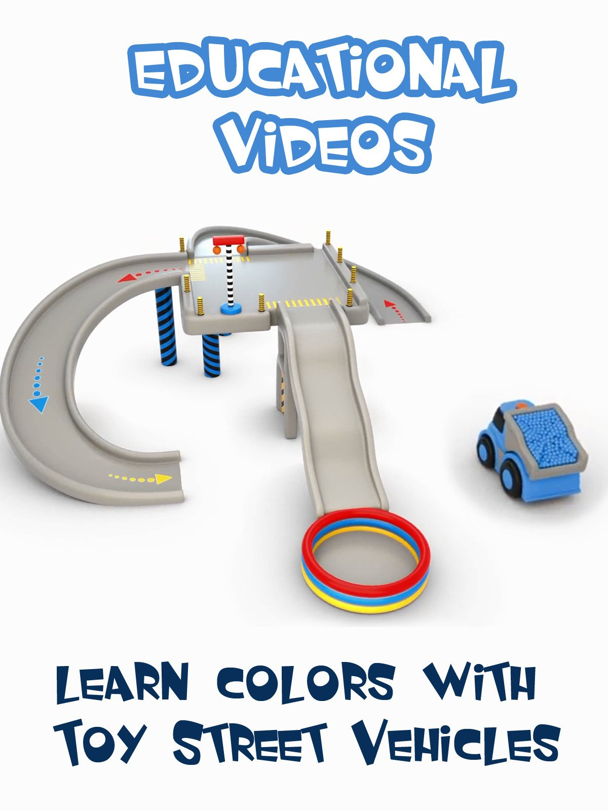 Learn Colors with Toy Street Vehicles