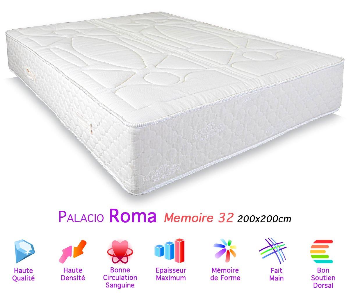 Palacio Roma Matratze Memory Foam 32, 200 x 200 cm günstig online kaufen