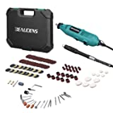 BEAUDENS Rotary Tool Kit with Flex Shaft, 100 Multifunctional Accessories, 6 Adjustable Speed, Solid Carrying Case and 2 Year Warranty for DIY Professionals (Color: Green)