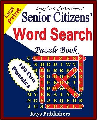 Senior Citizens' word search puzzle book (Volume 1)