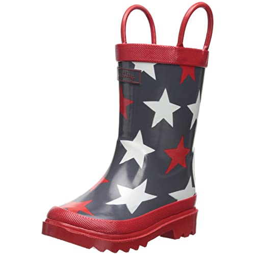 Hatley Little Boys Bright Stars Rain Boot