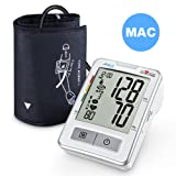 Blood Pressure Monitor Upper Arm, APULZ Digital Automatic BP Machine Cuff 8.7-16.5 in, High Accuracy Twice Consecutive Measurements, 240 Memories for Two Users- Batteries Included, FDA Approved (Color: Brightwhite)