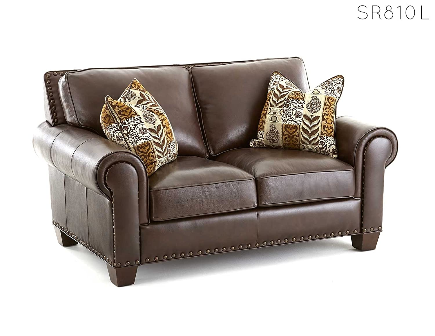 Steve Silver Company Escher Loveseat with 2 Accent Pillows