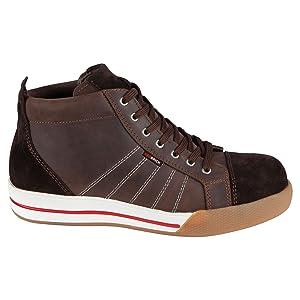 Red Brick Smaragd S3 Herren Stiefel, halbhoch, Braun (46 EUR) (Braun)  Schuhe & HandtaschenÜberprüfung und Beschreibung