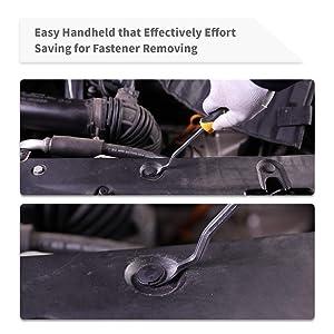 UTOOL Auto Trim Removal Tool 9 Pcs for Car Dash Audio Radio Door Panel Removal Tool with Ergonomic Design Nylon Fastener Remover