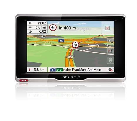 Becker 1501890000 GPS Noir, Argent