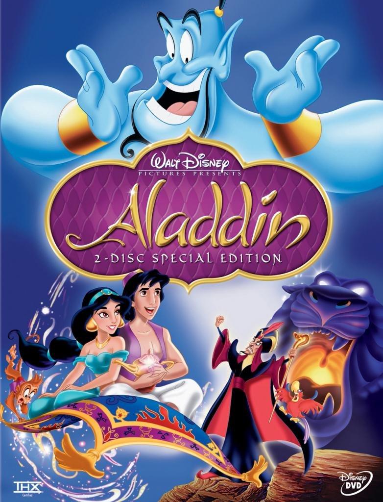 Movie Posters 1992 Movie Aladdin Poster