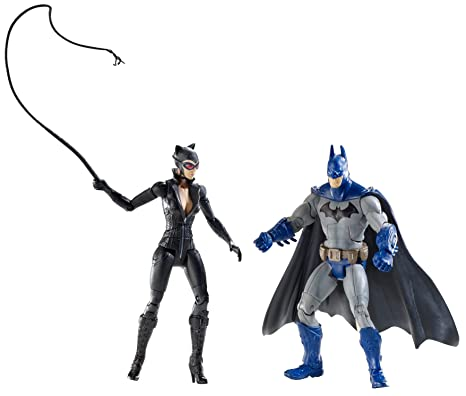 DC Batman Legacy Edition série 2 figurine 2Pack Batman Catwoman FULL COLOR Arkham City