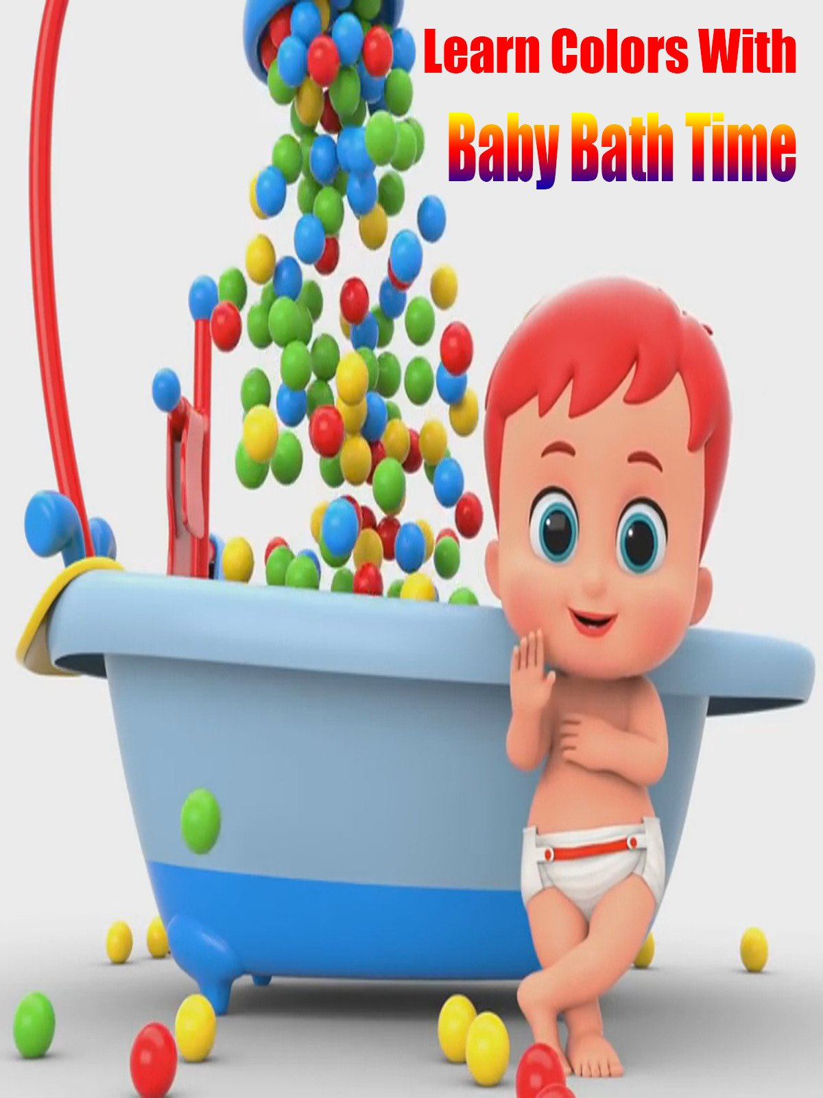 Learn Colors With Baby Bath Time