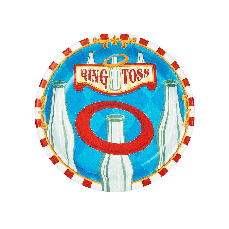 12 Fun Circus Carnival Party Games: Circus Birthday Party Plates
