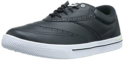 Men's Branded Nike Golf Nike Lunar Swingtip Leather Golf Shoe Sale Colors