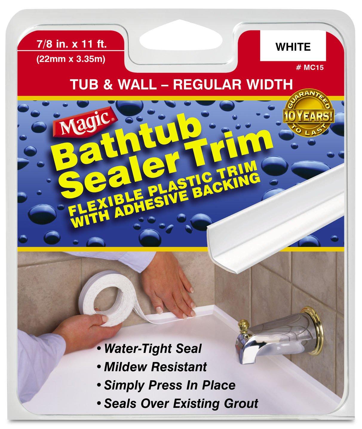myro magic american mc15 vinyl bath seal trim adhesive. Black Bedroom Furniture Sets. Home Design Ideas