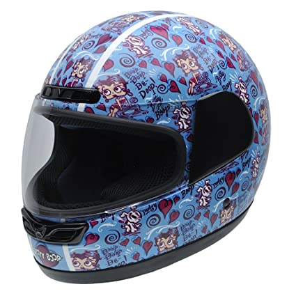 NZI 490023G552 Class Betty & Pudgy By Betty Boop, Casque de Moto, Taille XL Multicouleur
