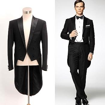 燕尾服 高級感のあるデザイン コート ブラック オーダメイド