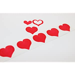 Heart Tanning Stickers width=