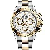 Rolex Daytona Grey Chronograph Steel And Yellow Gold Mens Watch 116523GYSO