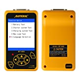 AUTOOL BT460 Tester on Starter, Charging System and Battery Load Test with 100-2400 CCA for 12/24V Cars (BT-460) (Color: BT-460)