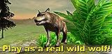 Wild Wolf Survival Simulator 3D
