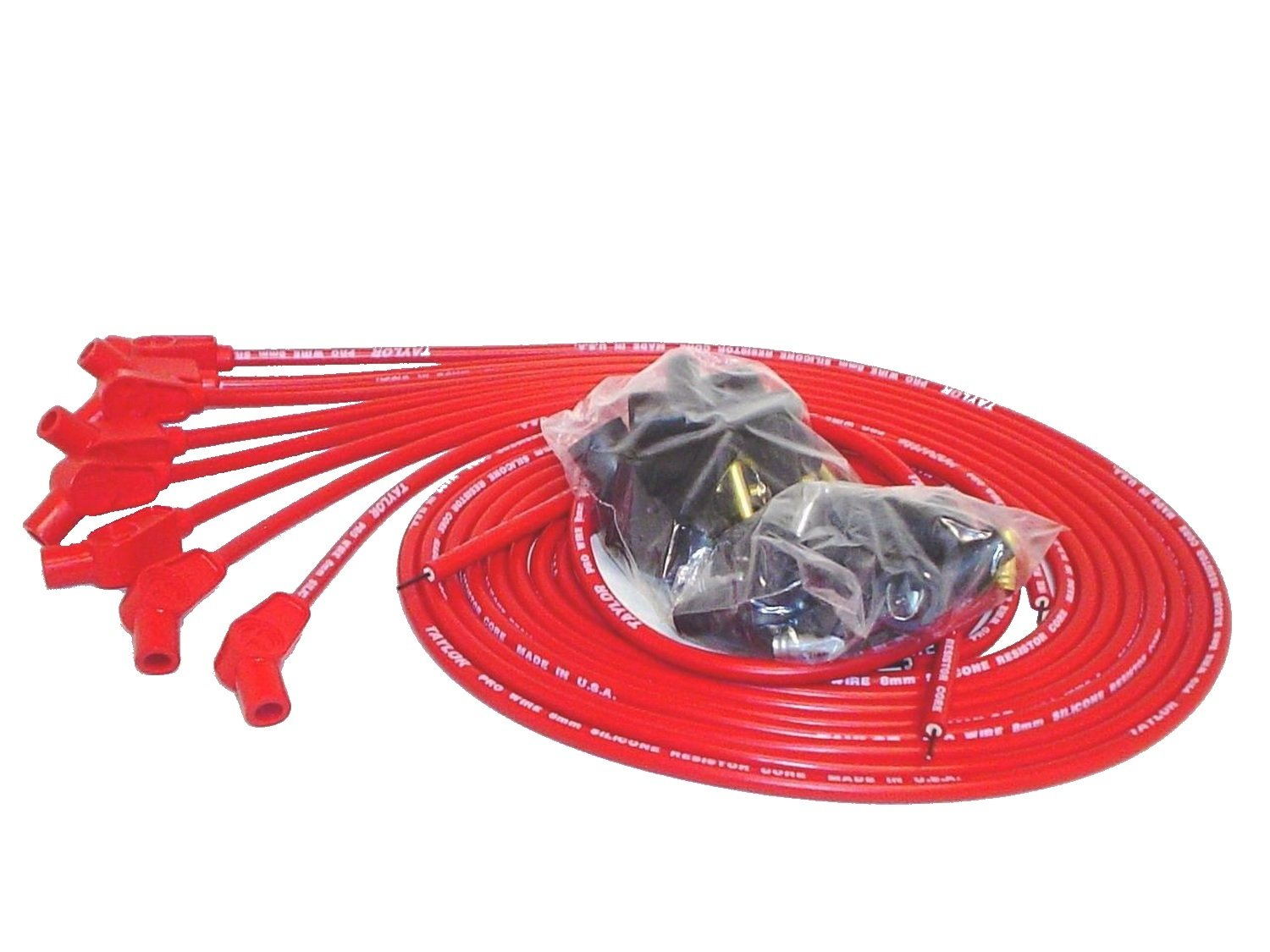 TAYLOR CABLE 70253 PRO 8MM UNIV RED RESISTOR taylor cole relogio tc013