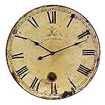 IMAX 2511 Large Wall Clock with Pendulum