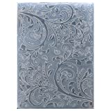 Kwan Crafts Leaves Plastic Embossing Folders for Card Making Scrapbooking and Other Paper Crafts, 12.5x17.7cm
