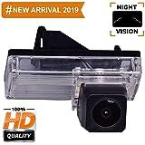Misayaee Rear View Back Up Reverse Parking Camera in License Plate Lighting Night Version (NTSC) for Toyota Reiz Land Cruiser LC100 J100 LC200 J200 V8 LC120 Prado J120 Prius MK2 Mark X MK1 GRX120