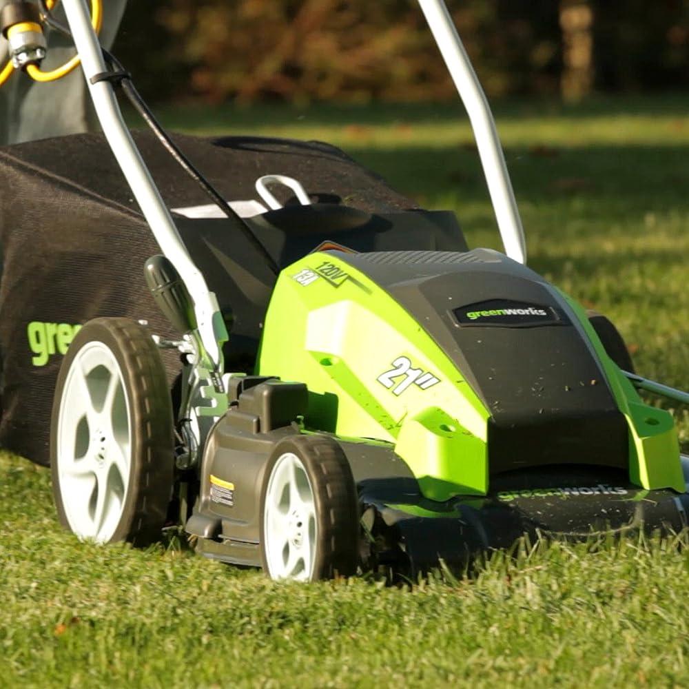 GreenWorks 25112 13 Amp 21-Inch Lawn Mower