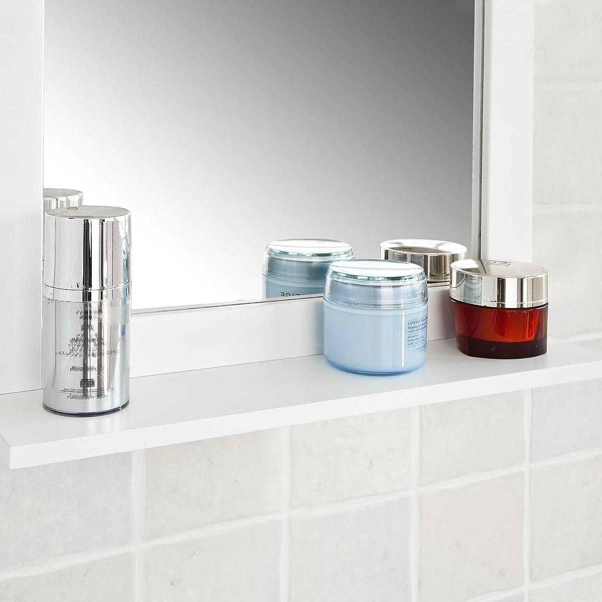 Haotian Wall Mounted Bathroom Mirror with Shelf,Bathroom Vanity Set ...
