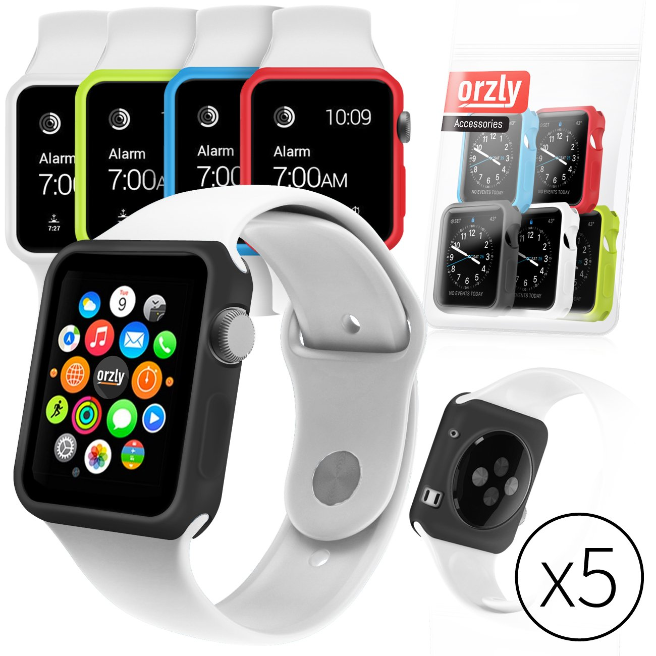 Top 20 Best Apple Watch Cases List And Reviews 2016 2017 On Spigen Rugged Armor Case 38mm Tpu Softcase Original Orzly 5 In 1 Funcolor Face Plates For 42 Mm Multi Pack Of Interchangeable Silicon Gel Covers Assorted