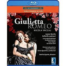 Vaccaj: Giulietta e Romeo [Blu-ray]