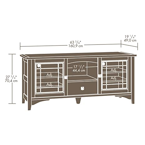 Download plans mission style tv stand pdf plans for for Tv cabinet plans
