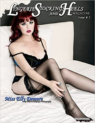 LSH Magazine: Issue # 5 Miss Elly Demure Cover
