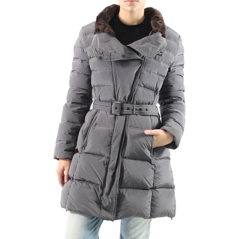 BLAUER Damen Wintermantel CAPOSPALLA IMBOTTITO PIUMA BLD0636 Daune in Grau günstig kaufen